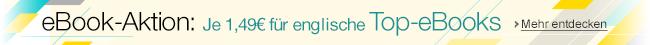 Englische eBooks für je 1,49 EUR