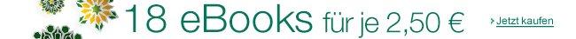 18 Top-eBooks für je 2,50 EUR