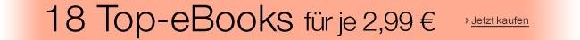 eBooks für je 2,99 EUR