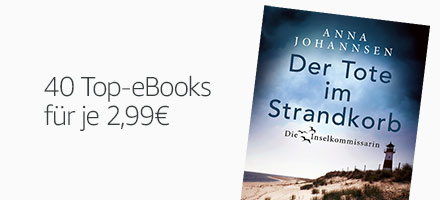 40 Top-eBooks für je 2,99 EUR