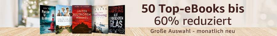 50 Top-eBooks für je 2,99 EUR