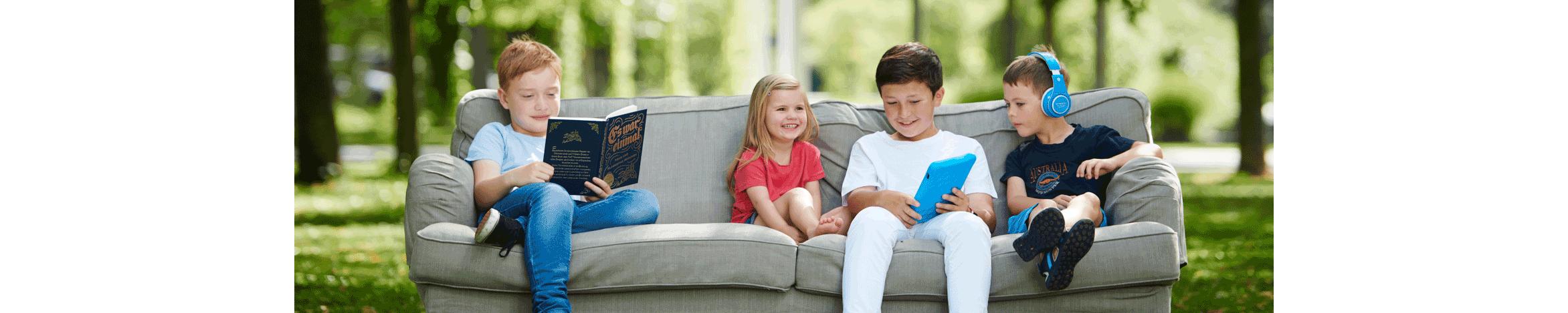 Wir lieben Lesen in allen Formaten