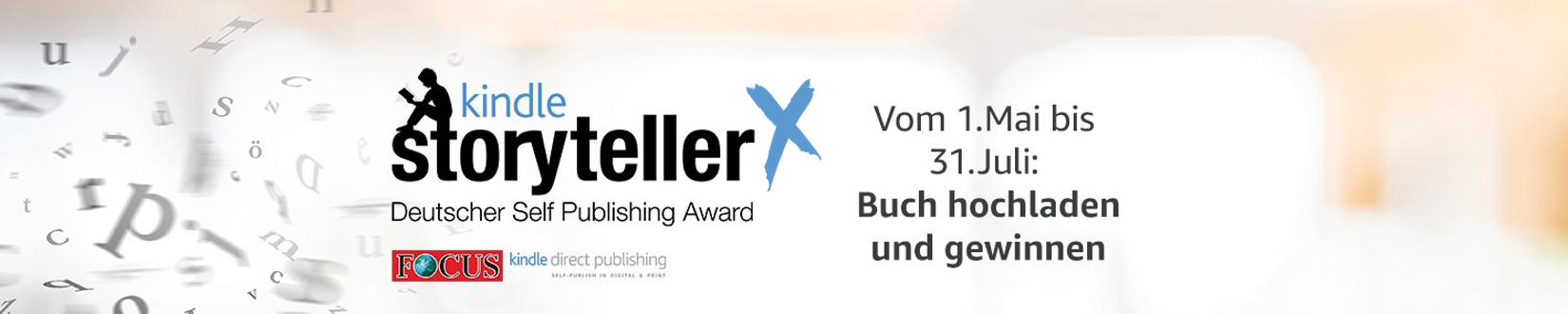 Kindle Storyteller - Deutscher Self Publishing Award