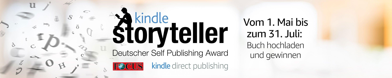 Kindle Storyteller - Deutscher Self Publishing Award