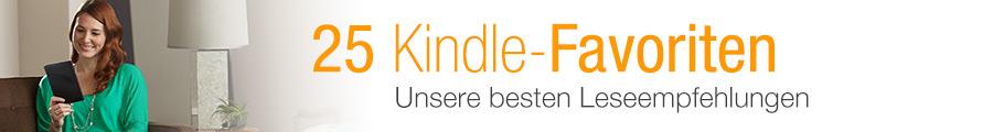 25 Kindle Favoriten