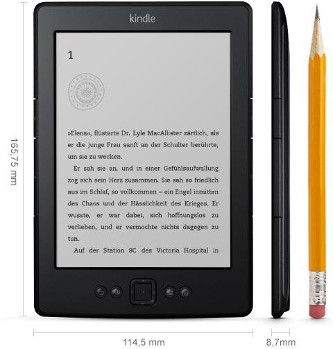 Kindle EReader Mit WLAN Und 6 Zoll15 Cm E Ink Display