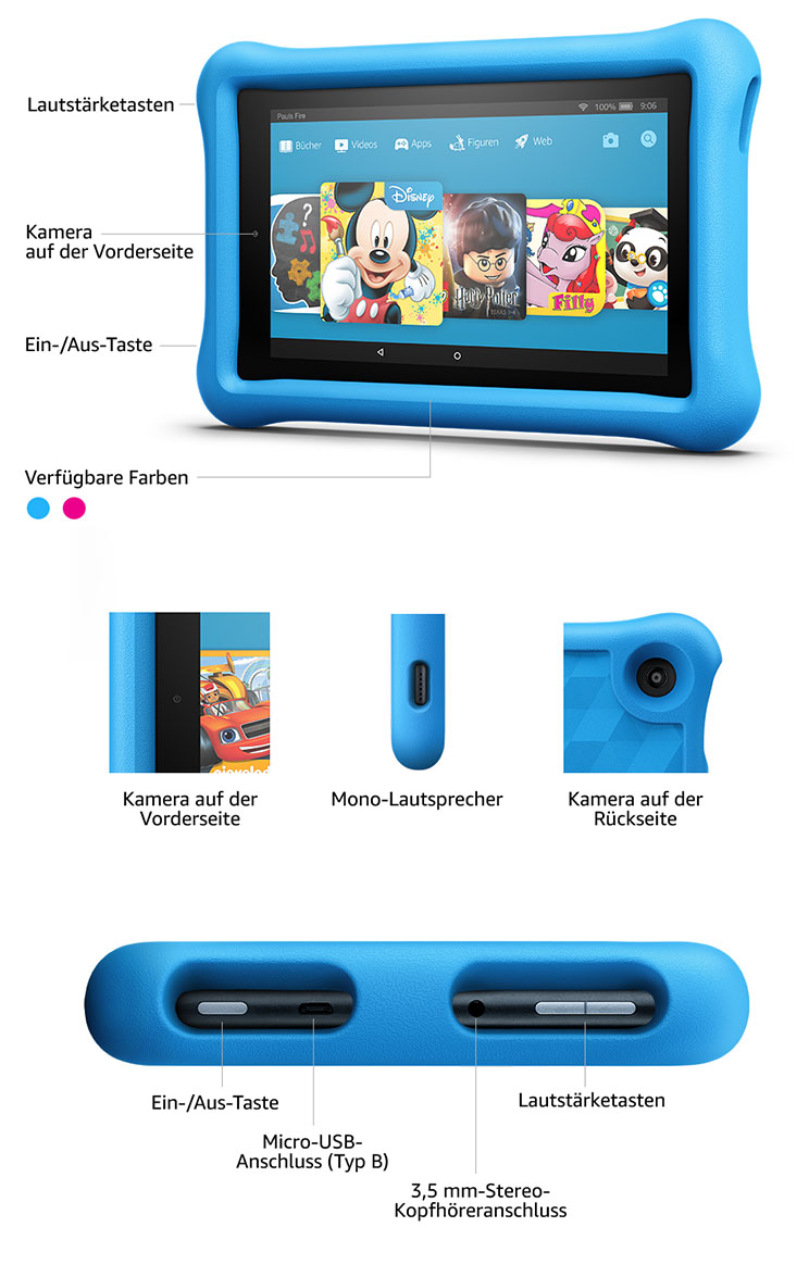 Fire 7 Kids Edition-Tablet - Sollte es kaputt gehen