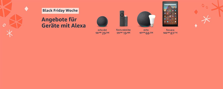 Angebote für Geräte mit Alexa