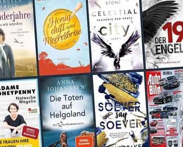 Kindle Unlimited: Entdecken Sie beliebte eBooks und Magazine