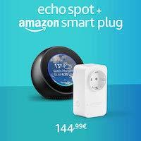 Echo Spot + Amazon Smart Plug