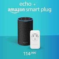 Echo + Amazon Smart Plug
