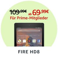 Fire HD 8-Tablet mit Alexa