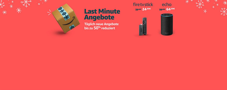 Last-Minute-Angebote