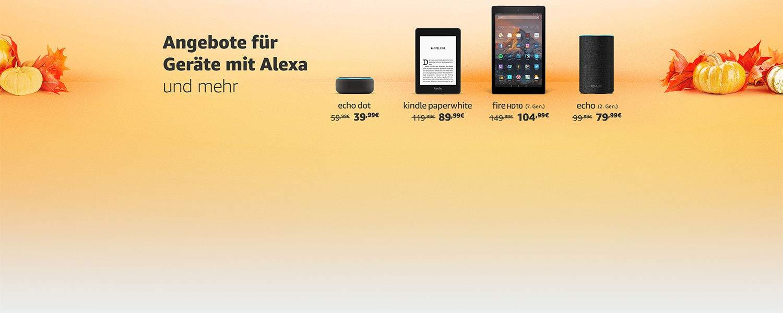 Angebote für Geräte mit Alexa und mehr