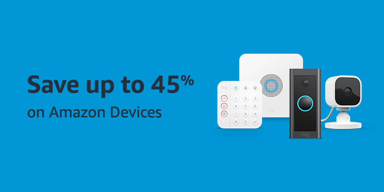 Save up to 45% on Amazon Devices
