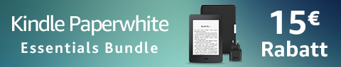 Kindle Paperwhite Essentials Bundle - 15 € Rabatt