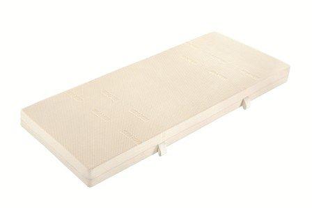 badenia bettcomfort kaltschaummatratze mit viscoauflage trendline bt 280 h2 160 x 200 cm wei. Black Bedroom Furniture Sets. Home Design Ideas