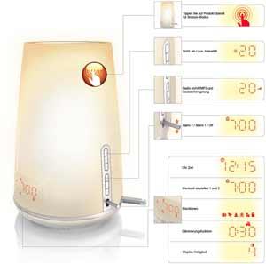 Philips Wake-up light HF3485