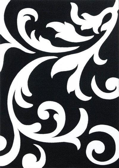 Lalee 347118304 lambada 451 tappeto 80 x 300 cm colore - Tappeto bianco nero ...