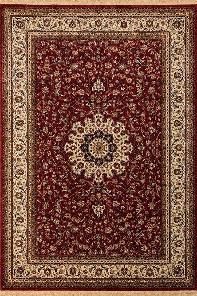 Lalee 347017430 Klassischer Teppich mit Fransen  Weich