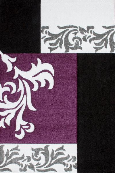 Lalee 347166145 Teppich Lambada 462, 80 x 300 cm, schwarz