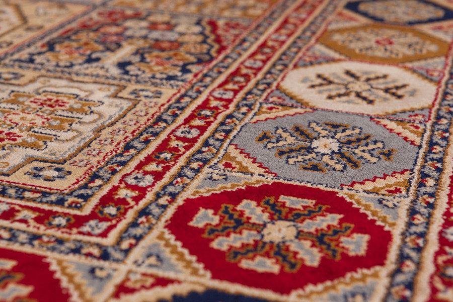 Lalee 347048243 Klassischer Teppich mit Fransen / Weich