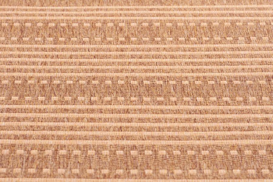 lalee 347144334 teppich sisal optik flach k che muster streifen braun gr sse 160. Black Bedroom Furniture Sets. Home Design Ideas