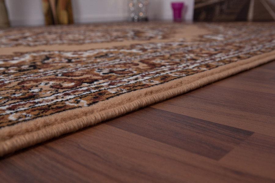 lalee 347052004 klassischer teppich orientalisch beige top preis gr sse 160 x 160 cm rund. Black Bedroom Furniture Sets. Home Design Ideas