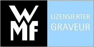 WMF vertraut auf einen lizensierten Graveur