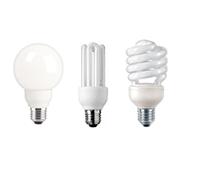 Kompaktleuchtstofflampen (Energiesparlampen)