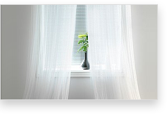 ratgeber gardinen k che haushalt wohnen. Black Bedroom Furniture Sets. Home Design Ideas