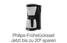 Jetzt bis zu 20 € beim Kauf eines Philips Frühstückssets sparen