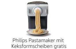 Philips Pastamaker: Jetzt mit Gratis-Keksformscheiben