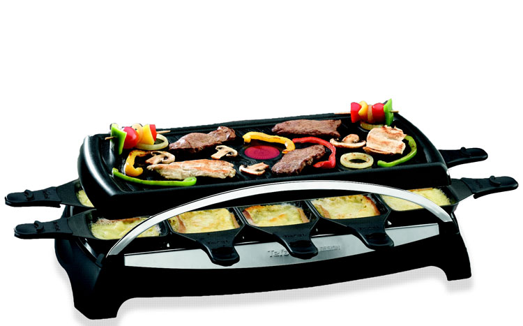 tefal re4568 ambience 10 raclette casa e cucina. Black Bedroom Furniture Sets. Home Design Ideas