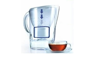 Brita Elemaris Cool Chrom Wasserfilter mit 1 Maxtra