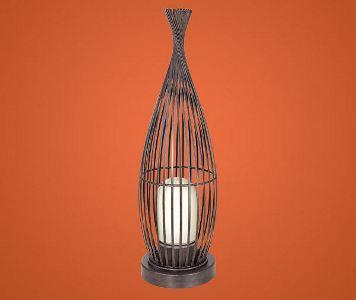 eglo aussen stehleuchte modell lorena 1 in antikbraunem. Black Bedroom Furniture Sets. Home Design Ideas
