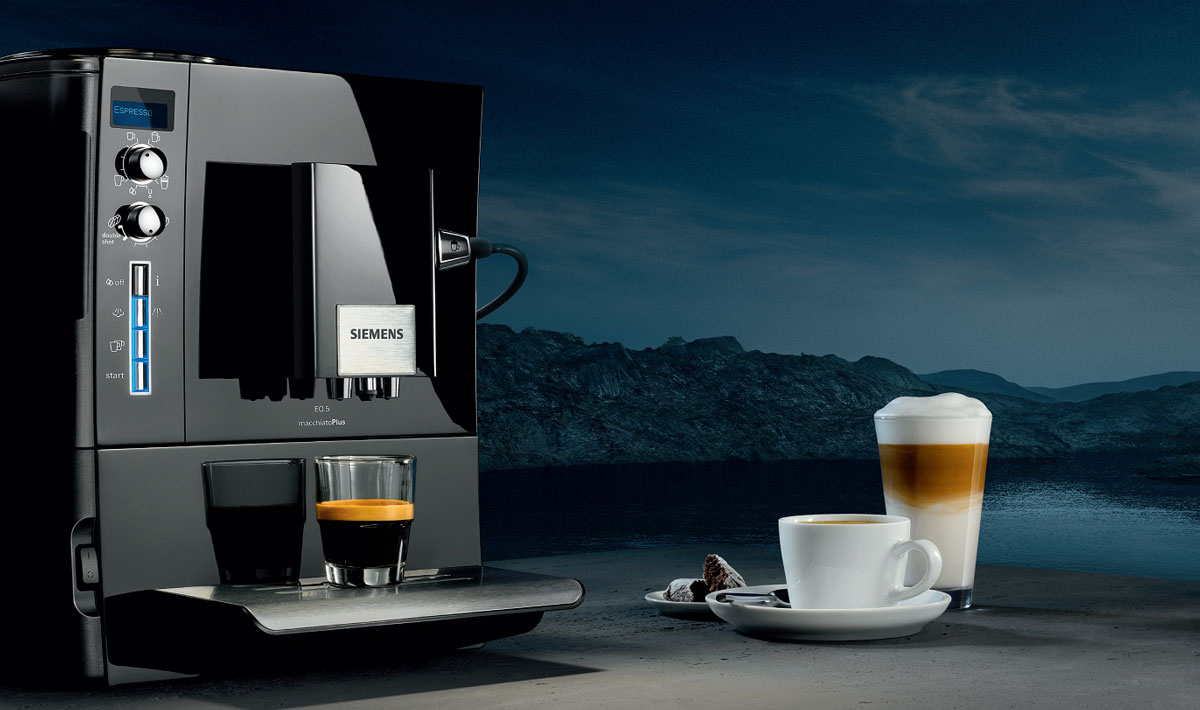 siemens te506m09de kaffee vollautomat eq 5 macchiatoplus 1 7 l 15 bar 1600 watt. Black Bedroom Furniture Sets. Home Design Ideas