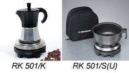 RK 501 mit Kanne oder Topf und Etui