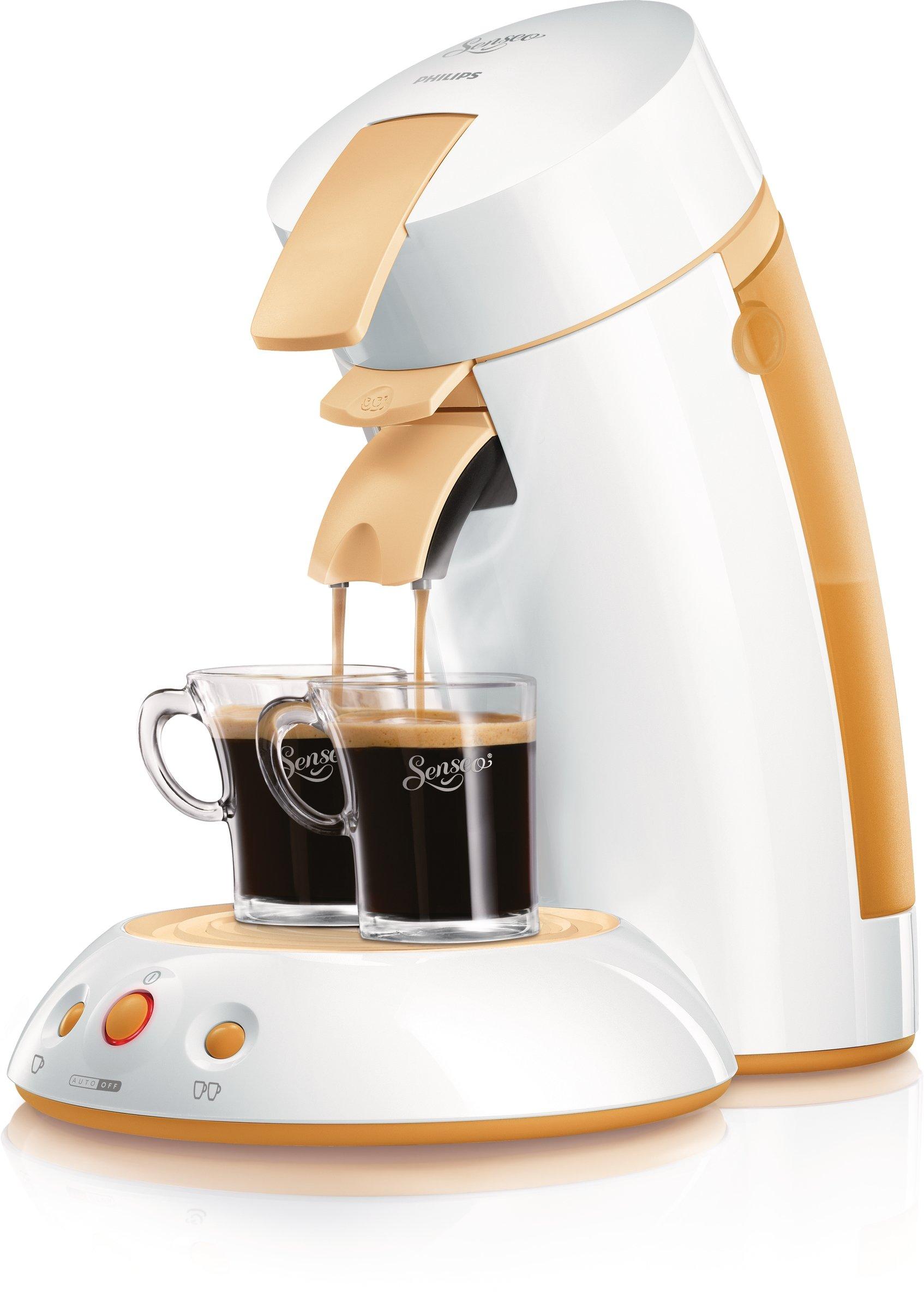 philips hd 7810 55 kaffeeautomat senseo wei orange. Black Bedroom Furniture Sets. Home Design Ideas