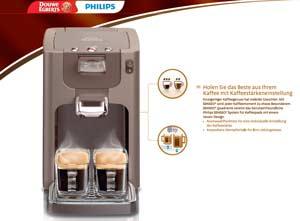 philips hd7862 20 senseo quadrante kaffeepadmaschine einstellbare kaffeest rke mocca. Black Bedroom Furniture Sets. Home Design Ideas