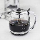 russell hobbs glass touch kaffeemaschine wei silber. Black Bedroom Furniture Sets. Home Design Ideas