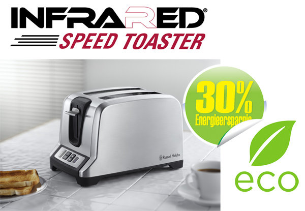 Toaster stainless 2 slice
