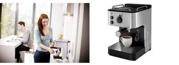 Russell Hobbs Allure Espressomaschine verarbeitet gemahlenen