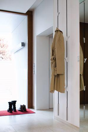 authentics 8083326 garderobe wardrope l 300 cm schwarz verchromt matt k che. Black Bedroom Furniture Sets. Home Design Ideas