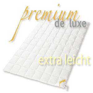 premium de luxe daunendecke sommer 155x220cm 100 g nseflaum 280 gr deutsches. Black Bedroom Furniture Sets. Home Design Ideas