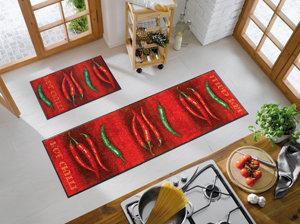 amazon.de: fußmatte hot chili 60x180 cm - Fußmatte Küche