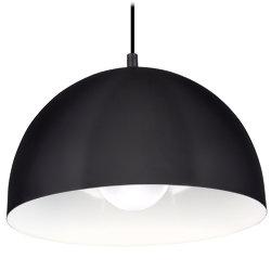 Tristan Pendelleuchte, schwarz/weiß, E27, 1x max 60W