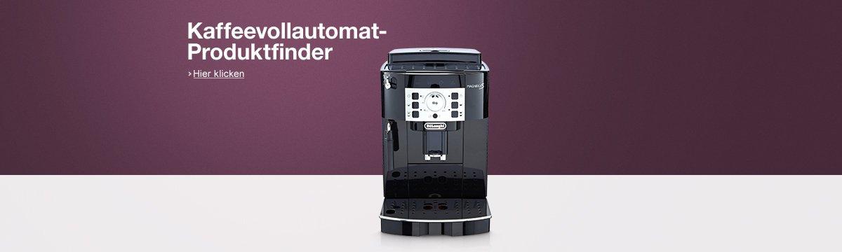 Kaffeevollautomat-Produktfinder