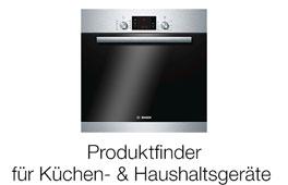 Produktfinder für Küchen- und Haushaltsgeräte