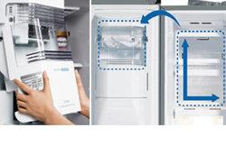Side By Side Kühlschrank Ohne Festwasseranschluss : Lg gsp nsyz side by side kühl gefrier kombination eek a